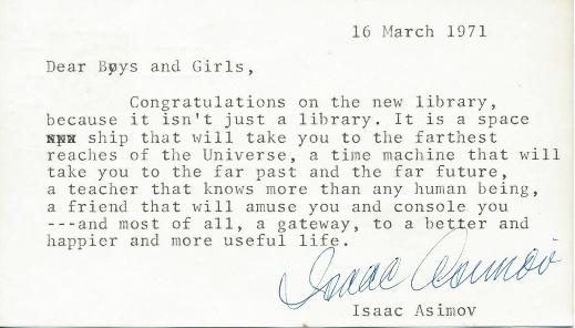 La biblioteca es tu nave espacial